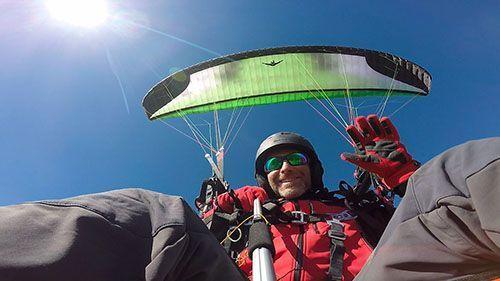 vuelo parapente en Arcones