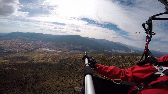 vuelo parapente en Cebreros