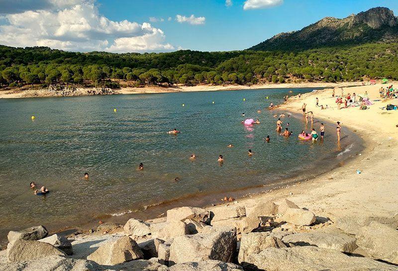 Playa De Madrid Playa Virgen De La Nueva En El Pantano De San Juan