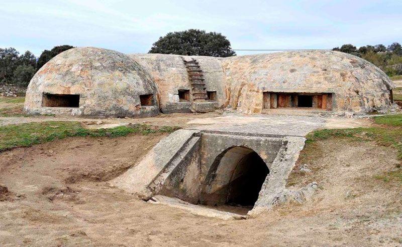 ruta colmenar del arroyo y bunker blockhouse 13